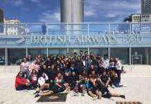 Grupo Big Ben 2017 en Brighton. Fotos: academia big ben