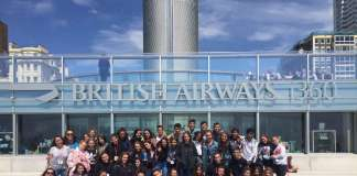 Grupo Big Ben 2017 en Brighton. Fotos: academia big ben