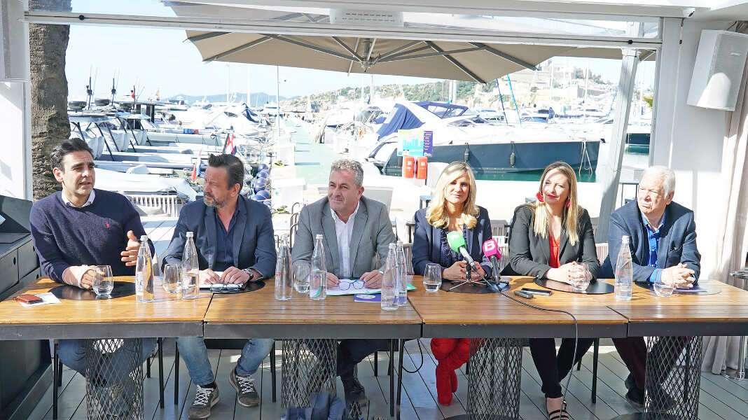 La presentación del evento, que se desarrolla desde el pasado jueves hasta el próximo martes en siete de los restaurantes de Marina Botafoch.