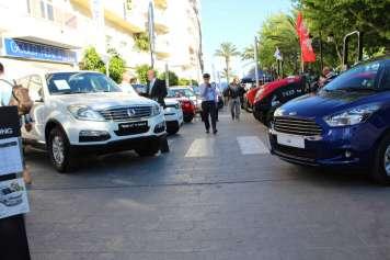 La celebración de la feria, el año pasado. Fotos: Ayuntamiento Santa Eulalia