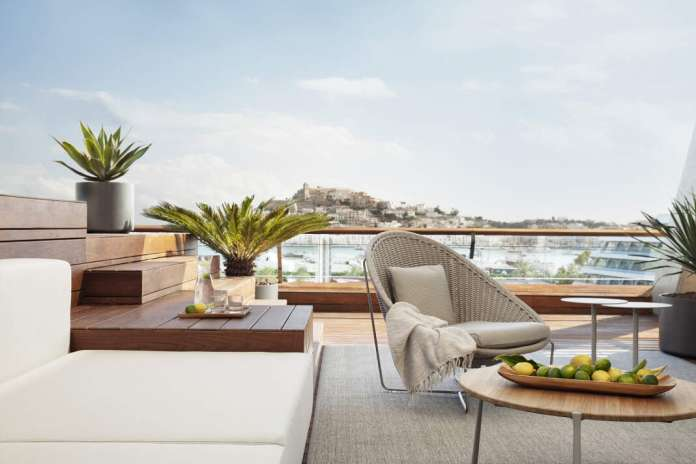Ibiza Gran Hotel está posicionado como el único hotel 5 estrellas Gran Lujo de la isla. fotos: ibiza gran hotel Reapertura Ibiza Gran Hotel
