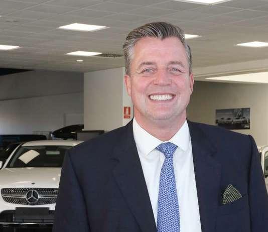 Roland Schell, presidente de Mercedes Benz España, tiene grandes proyectos para Ibiza. J.A Riera