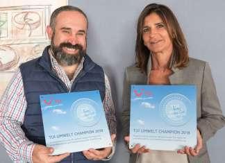 Dos hoteles de la cadena han sido reconocidos con el distintivo. palladium hotel group Campeón medioambiental 2018