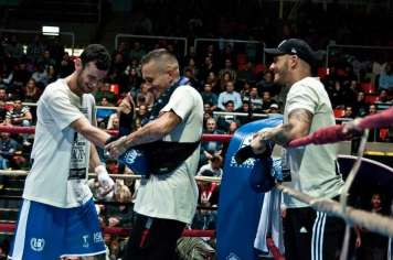 Primer combate de Mario Bogdan, miembro del equipo que no podrá competir este sábado.
