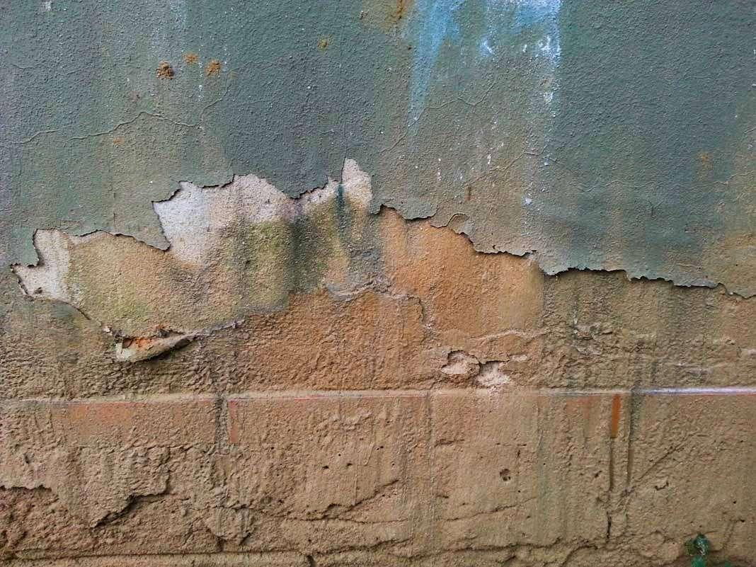 Efectos de humedades en paredes. Foto: Istock