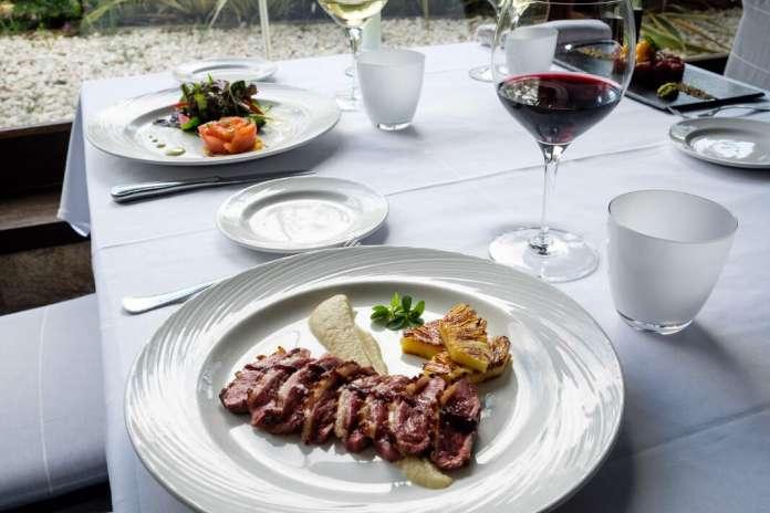 Los platos son elaborados con producto de alta calidad. Fotos: Sergio G. Cañizares Ama Lur