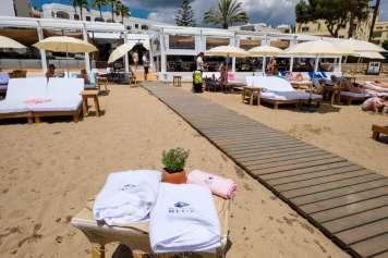 Chiringuito Blue Ibiza está en Santa Eulària. s.g.c.
