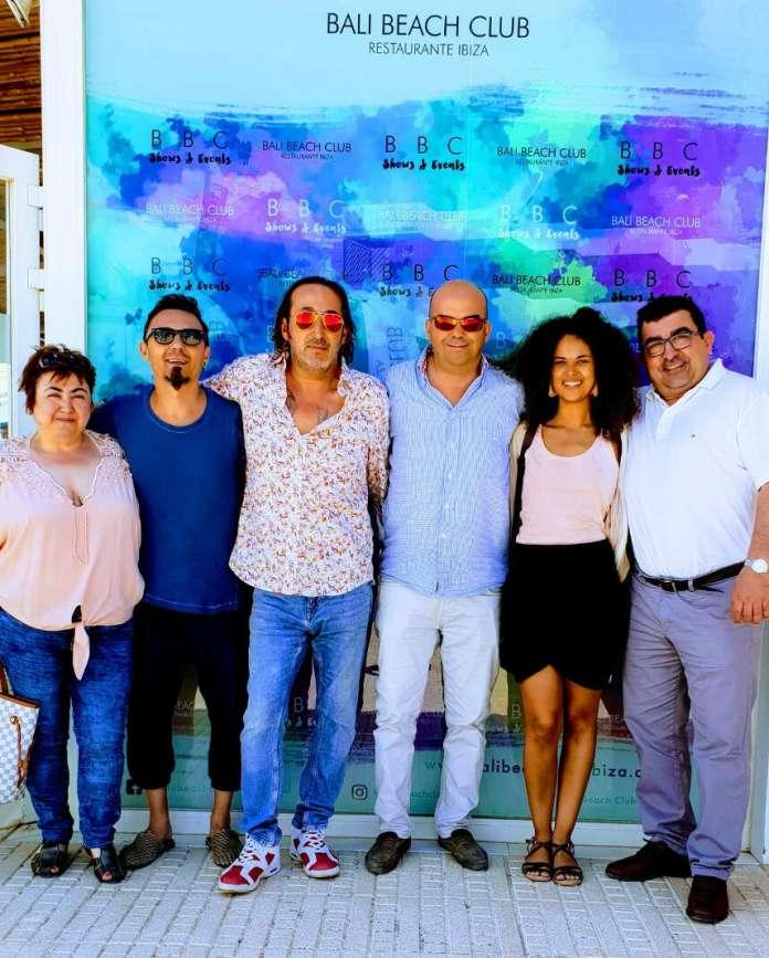 Representantes de Moda Adlib han visitado el 'beach club'. Foto: bali beach
