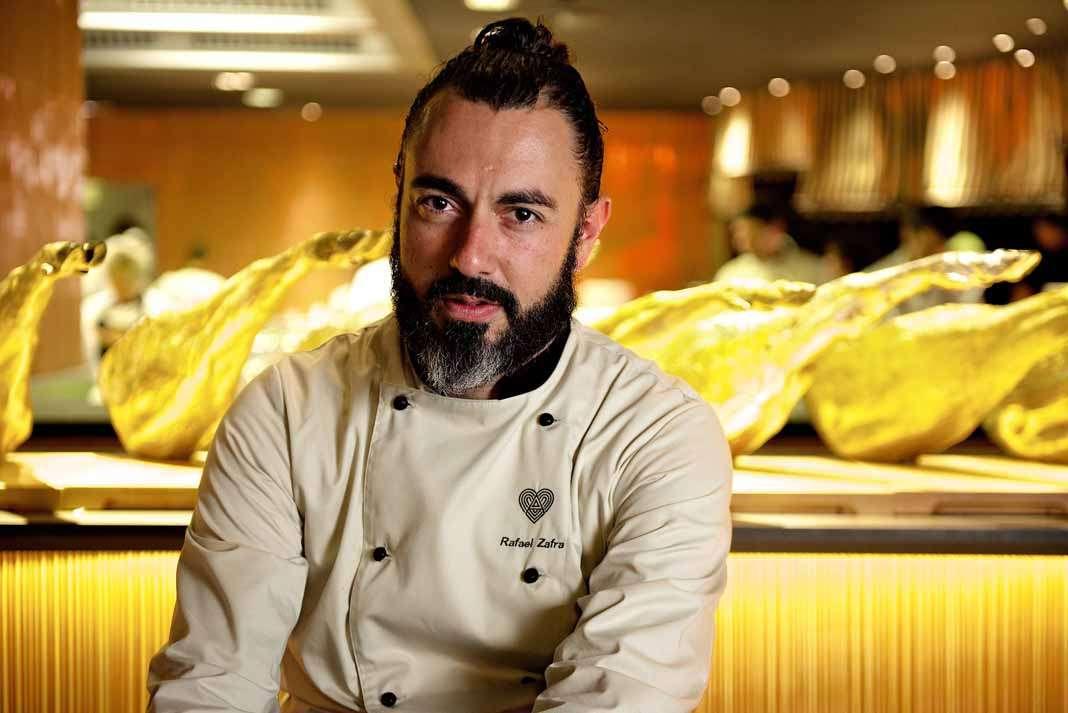 Rafa Zafra, chef ejecutivo del restaurante Heart Ibiza.