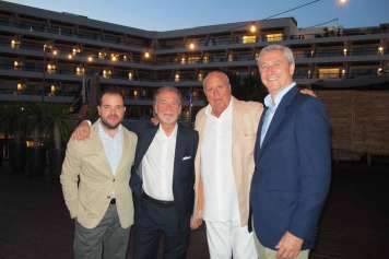 Entre los asistentes se encontraban Martín Santandreu, propietario del Ibiza Gran Hotel y Enrique Banegas,director financiero.