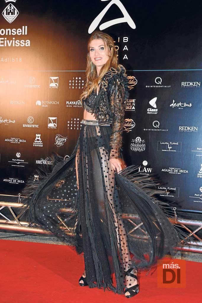 La modelo Mireia Lalaguna.