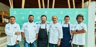 Cinco chefs con estrellas Michelin participaron en el exclusivo evento gsatronómico de Destino Pacha Resort