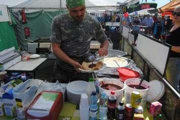 En el mercado de Hakaniemi también se puede desayunar.