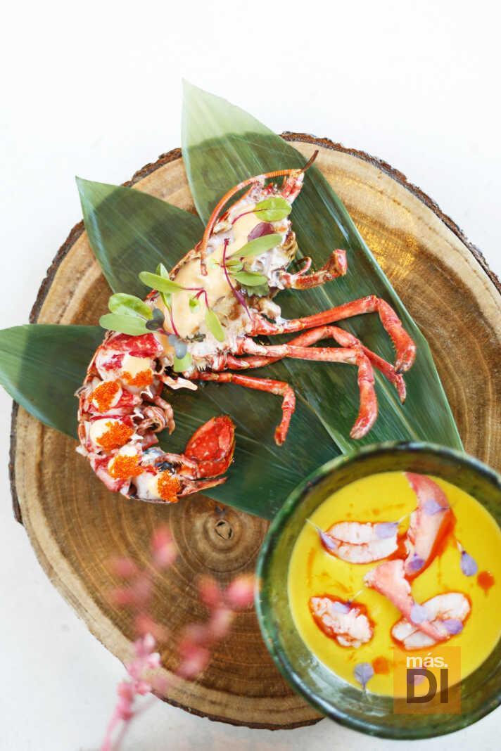 Una particular y exquisita visión culinaria del bogavante.