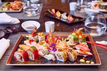 Presentaciones cuidadas al detalle. fotos: minami japanese restaurant