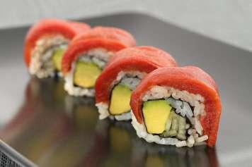 Ocean Hugger Foods ha creado el Ahimi, el primer sustituto vegetal del atún. foto: ocean hugger foods