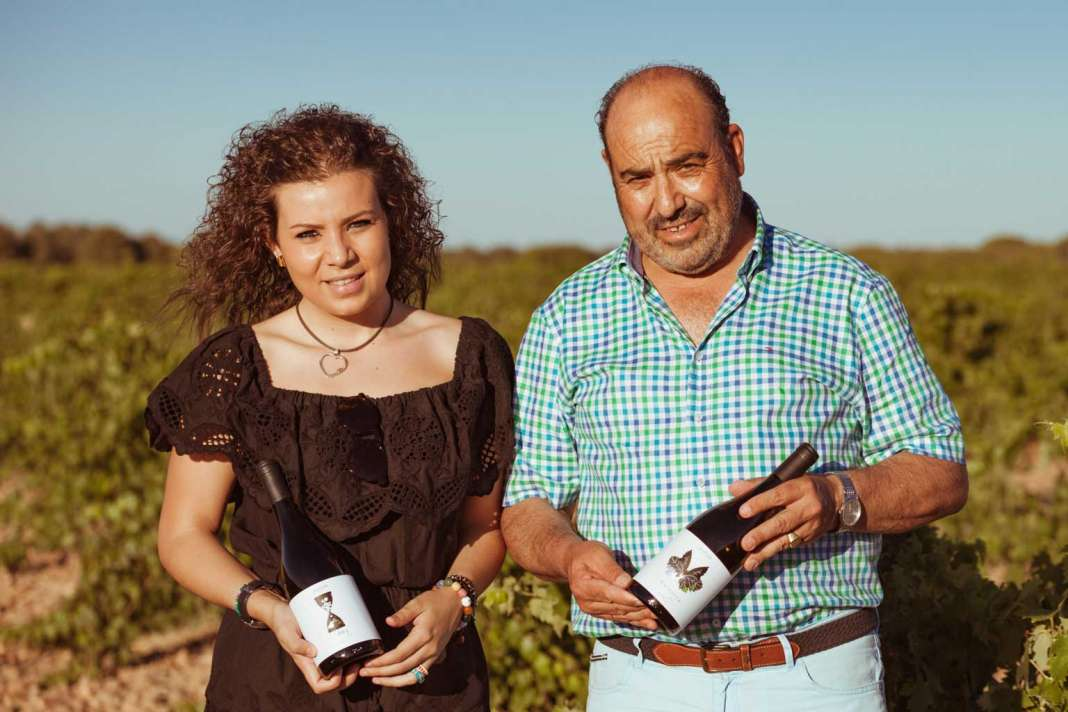 Leticia Sanz y Javier Sanz.