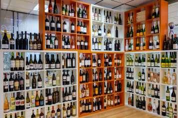 El 'showroom' de Bedrinks, un espacio para los amantes del vino.