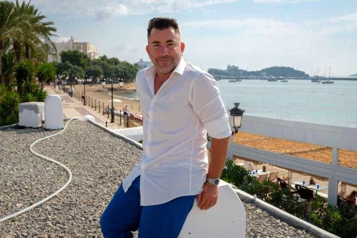 Chiringuito Blue. Juanan Martínez en la terraza de Blue. Sergio G. Cañizares