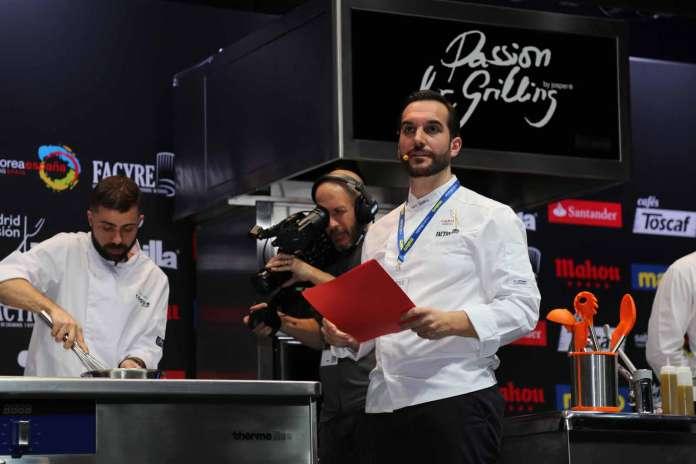 Mario Sandoval durante una conferencia en el certamen gastronómico Madrid Fusión. Juan Suárez