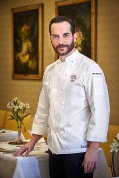Mario Sandoval es uno de los grandes valores de la alta cocina española de vanguardia y de la investigación.