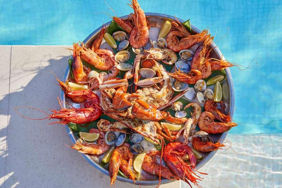 Los mariscos más apreciados se sirven a la mesa todos los días. fotos: The Oyster & Caviar Bar