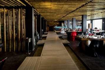 El restaurante se encuentra en Ushuaïa Ibiza Beach Hotel. Fotos: Minami