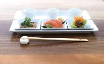 Nobu ofrece una degustación de 'sushi' maridado con sake.