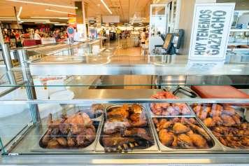 HiperCentro también ofrece a domicilio su sección de comida preparada.