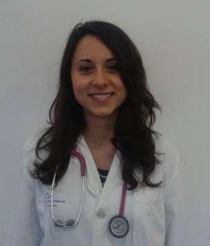 Elisa Herranz, médico residente en Can Misses, quien ganó la beca en 2016.