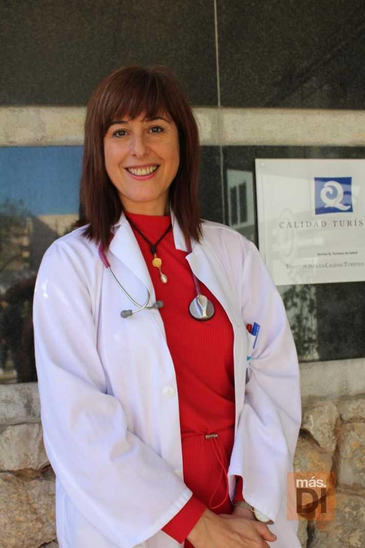 La doctora Asunción Pablos, especialista en Medicina Interna.
