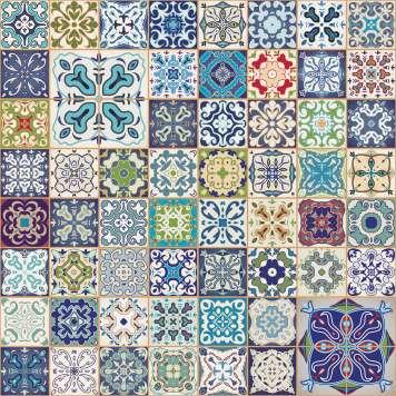 Desde el siglo XIX el suelo hidráulico decora las cocinas.
