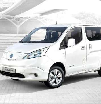 La e-NV200 Evalia, un vehículo de diseño atractivo, cómodo y de consumo eficiente.
