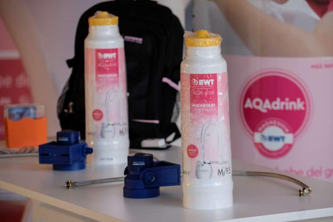 Servicios Palau presenta en Ibiza el sistema de filtrado de agua AQAdrink. Foto: S.G.C.