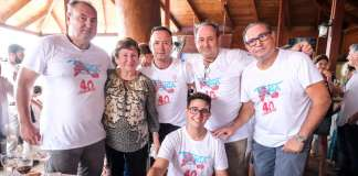 40 aniversario restaurante Tanga