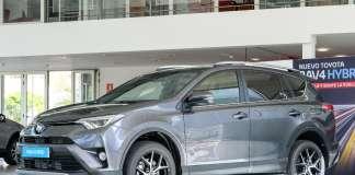 El Toyota RAV4 Hybrid está expuesto en Ebusus Motor, concesionario oficial de Toyota en Eivissa y Formentera. FOTOS: SERGIO G. CAÑIZARES