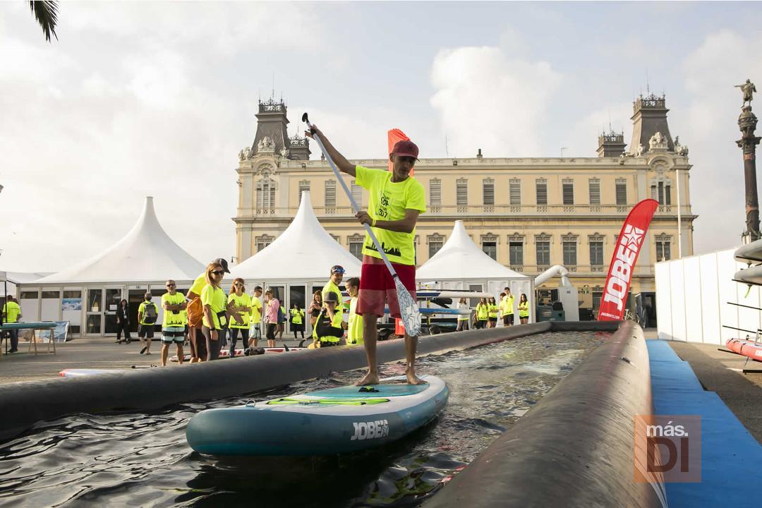Actividades deportivas relacionadas con el mar. Foto: SNB