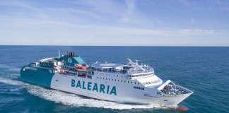 El principal reto de la naviera: implantar en los próximos años el uso de gas natural licuado en la flota. Foto: Baleària
