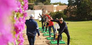 iniciarse al golf con los cursos de iniciación al golf de Golf Ibiza