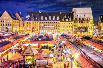 Núremberg es una ciudad en la región de Franconia, en el estado de Baviera.