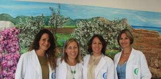 Equipo de profesionales de la unidad de Salud Mental de la Policlínica Nuestra Señora del Rosario.