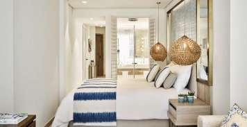 Nobu Hotel Ibiza Bay ofrece una suite junior con desayuno por 250 euros. Foto: Nobu Hotel Ibiza Bay