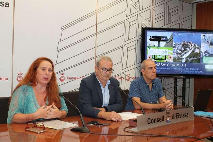 Presentación del proyecto este pasado mes de octubre en el Consell de Ibiza.