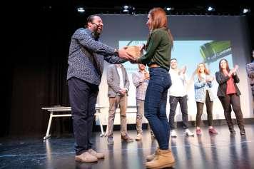 Reconocimiento a los seis mejores alumnos con una Master Class en La Rioja gracias a la colaboración de Enotecum con el aula Azpilicueta.
