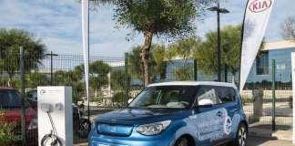 La II Vuelta a España en Vehículo Eléctrico, organizada por Endesa, ha contado con la colaboración de KIA. fotos: Endesa