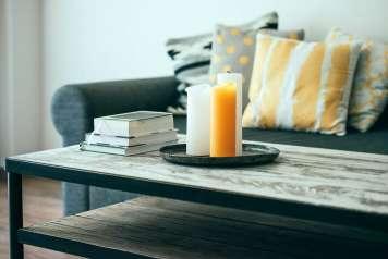 Las velas favorecen la sensación de calidez en un hogar.