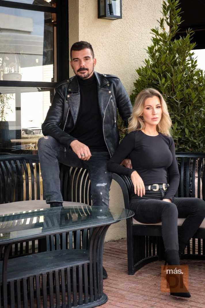 Carlos y Cristina Santacruz, creadores de Can Pincho.