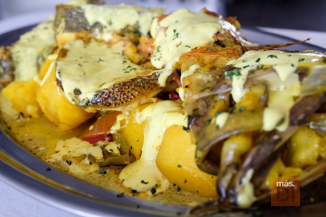 El 'bullit de peix', uno de los platos destacados en el restaurante Dausol. fotos: