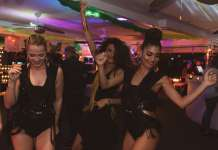 Elegantes bailarinas animaron la fiesta. Fotos: D.I