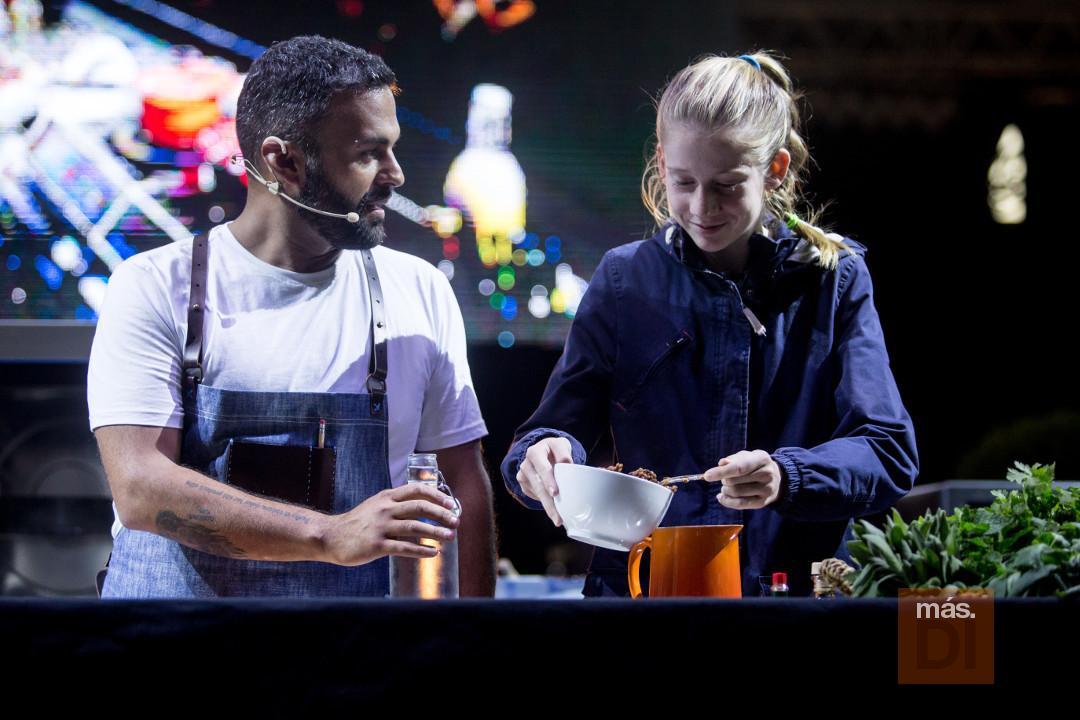 El chef reclamó en varias ocasiones la colaboración del público.